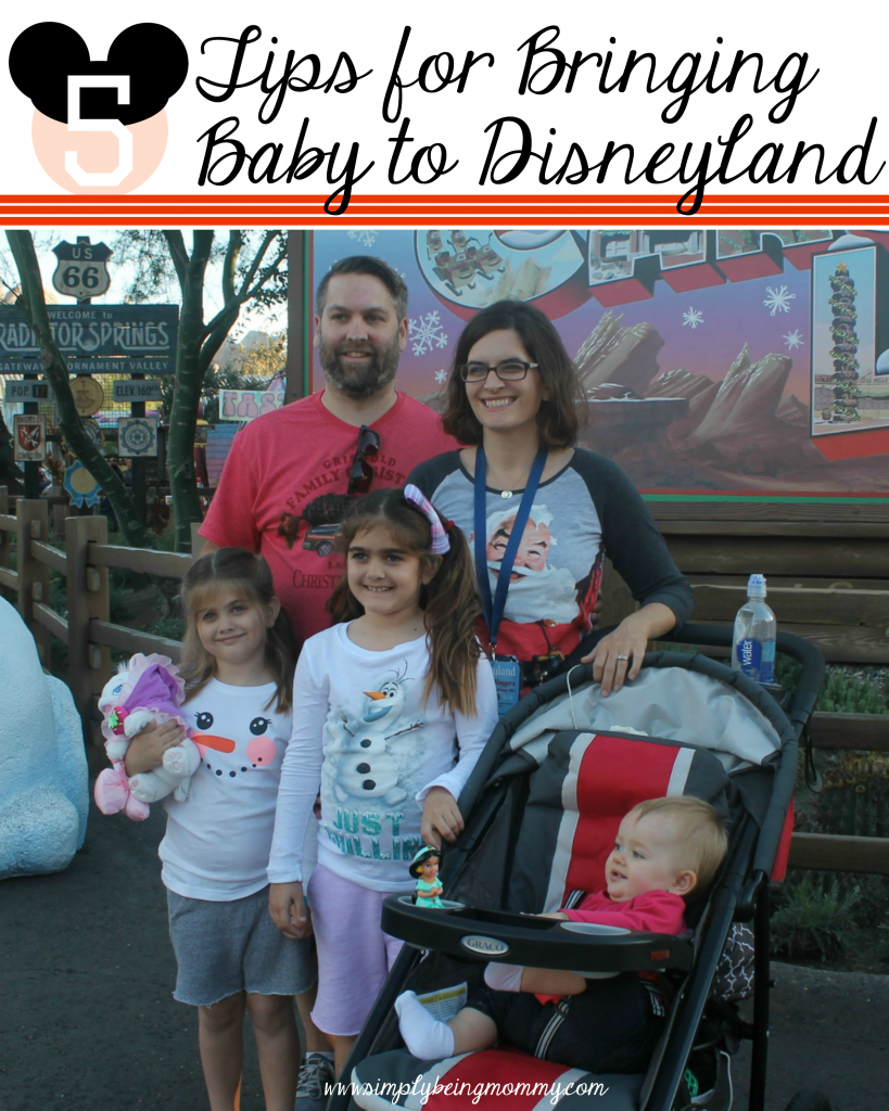 tips for bringing baby to disneyland