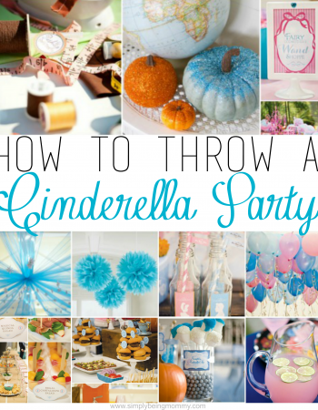 Have a little girl that wants a Cinderlla Party? This is a great list for everything you need to know for how to throw a Cinderella Party.