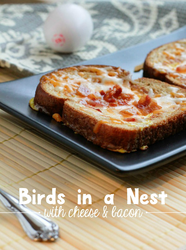 This Birds in a Nest recipe is a fun twist to a traditional breakfast.