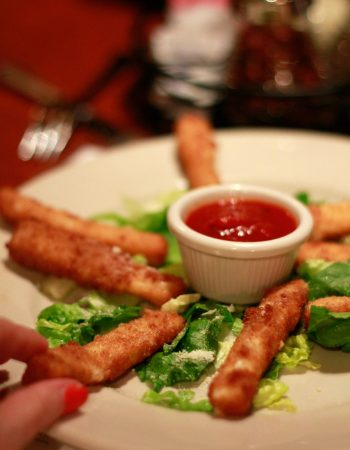 An order of Mozzarella Fritti from Russo's NY Pizzeria