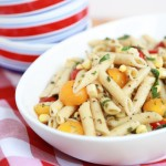 Enjoy the tastes and colors of summer with this Fresh Corn and Pasta Salad recipe.