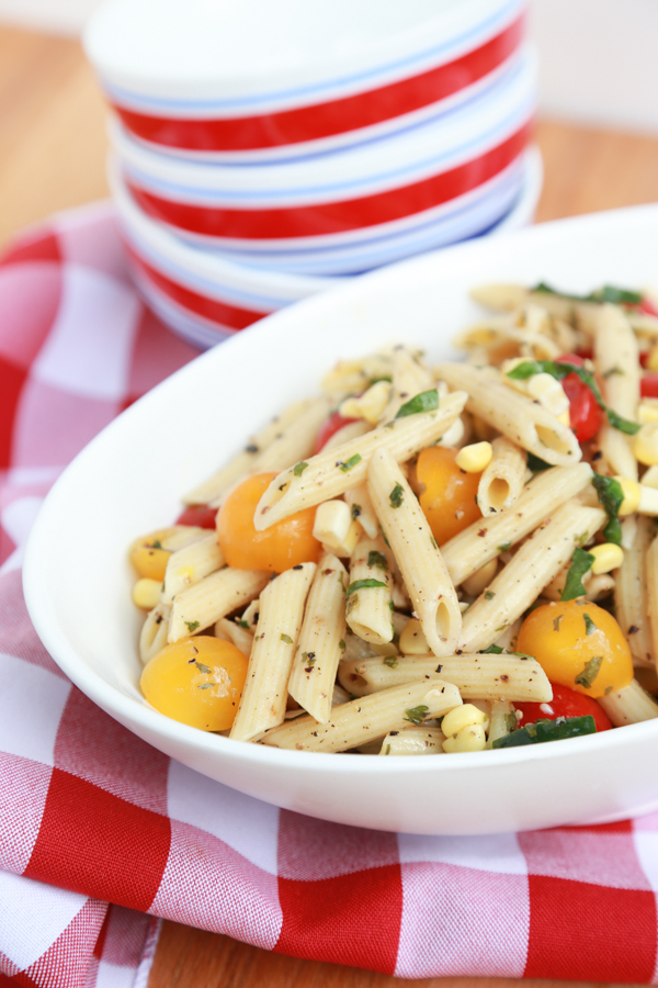 Fresh Corn and Pasta Salad recipe