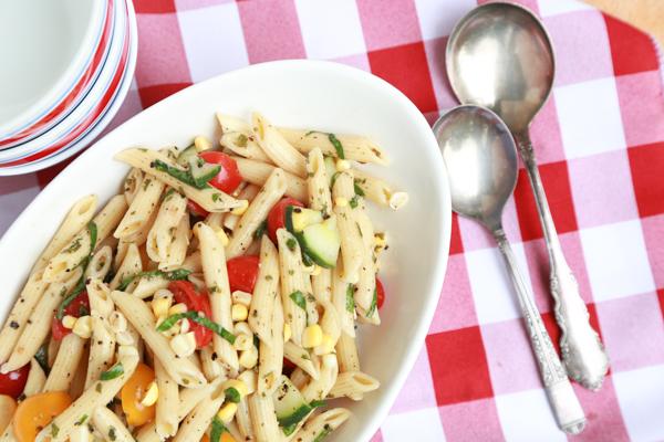 Corn and Pasta Salad recipe