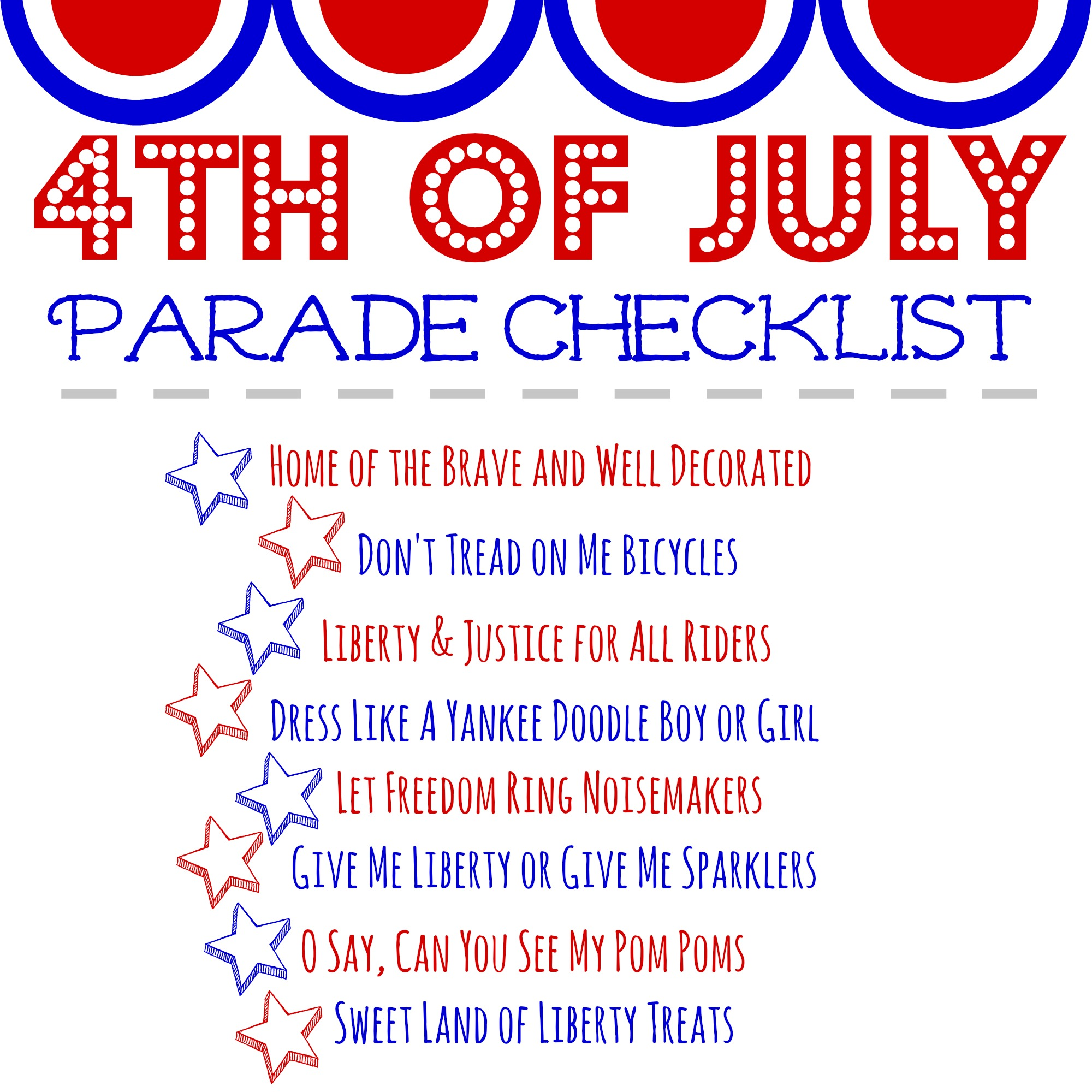 The 4th of July is a holiday that deserves celebration. Live in a neighborhood? Want to throw a parade? Here are some tips for how to host a 4th of July parade!