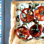 Making this Easy Caprese Pizza will be the best thing you did for yourself today. Made with Puff Pastry, it's the easiest pizza you'll ever make!