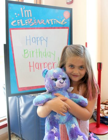 When you don't want the stress of planning your child's birthday party, check out Build-A-Bear Parties.