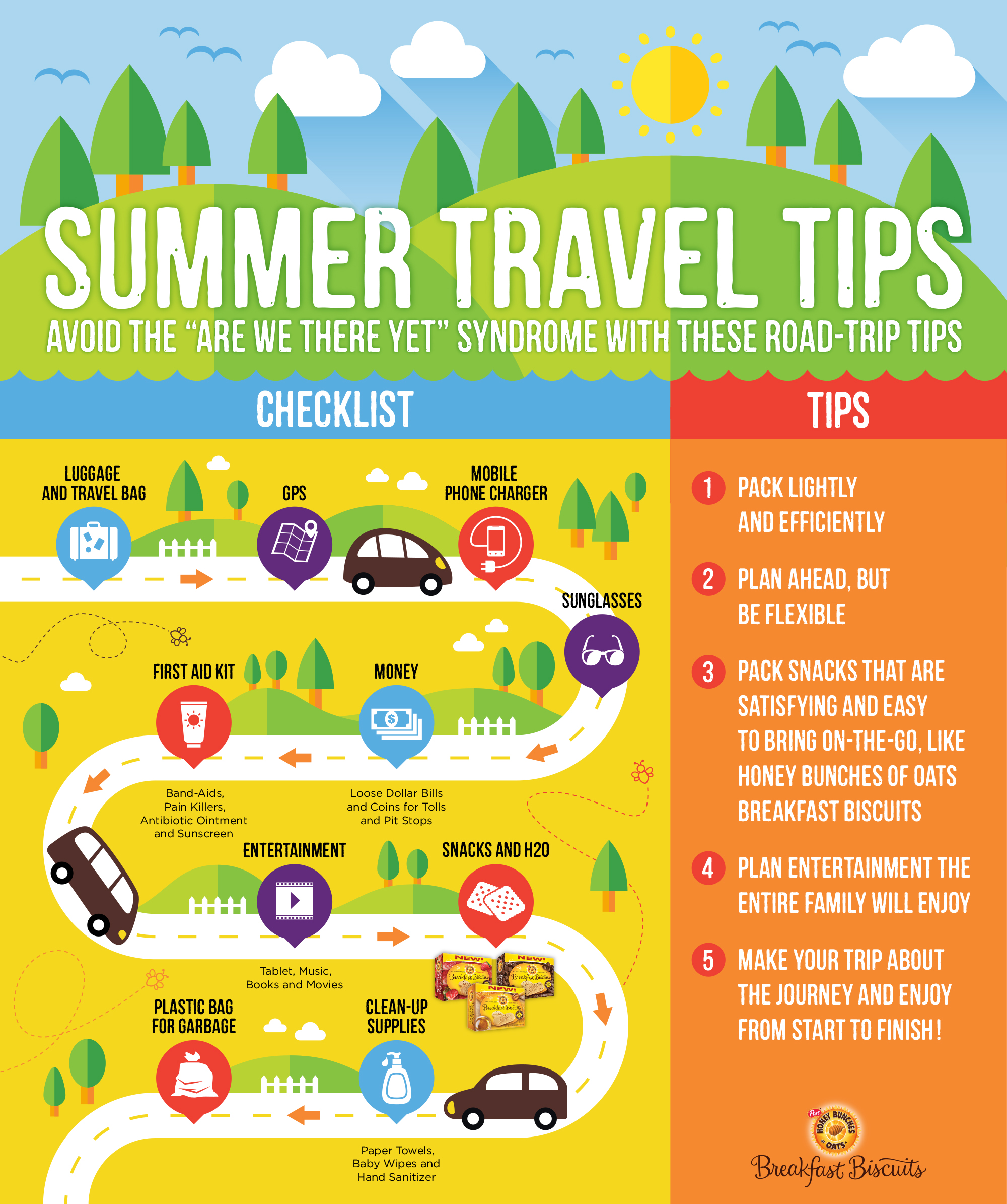 "Traveling this summer? Here are some summer travel tips to avoid the ""Are we there yet"" syndrome!"