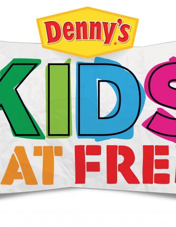 Looking for cheaper ways to eat out with your family this summer? Kids Eat Free at Denny's every Tuesday!