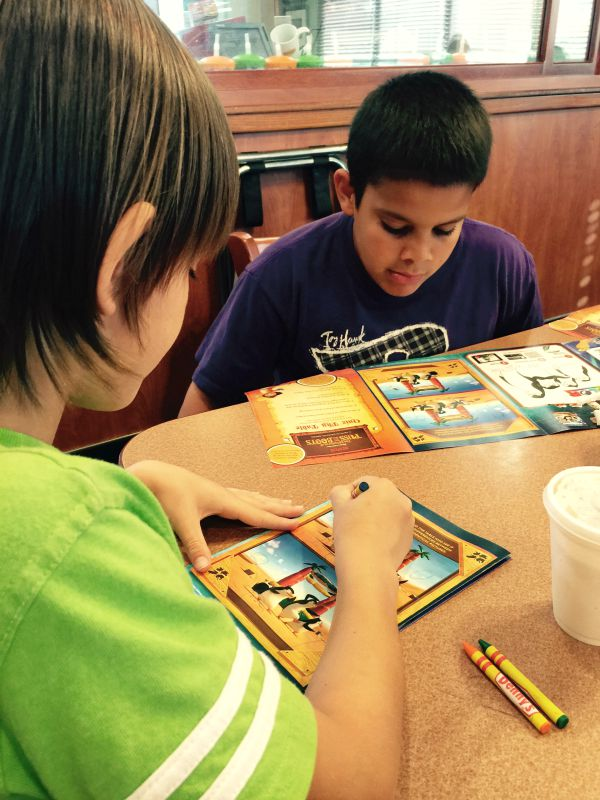Looking for cheaper ways to eat out with your family. Kids Eat Free at Denny's every Tuesday!