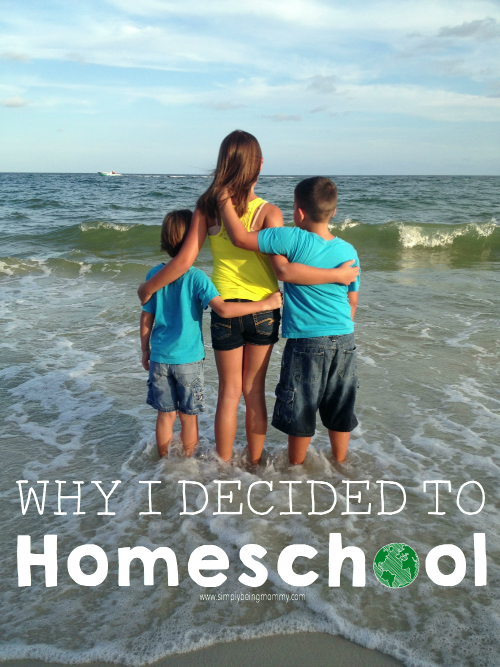 I open up a bit and show you my heart as I try to put into words why I decided to homeschool my children.