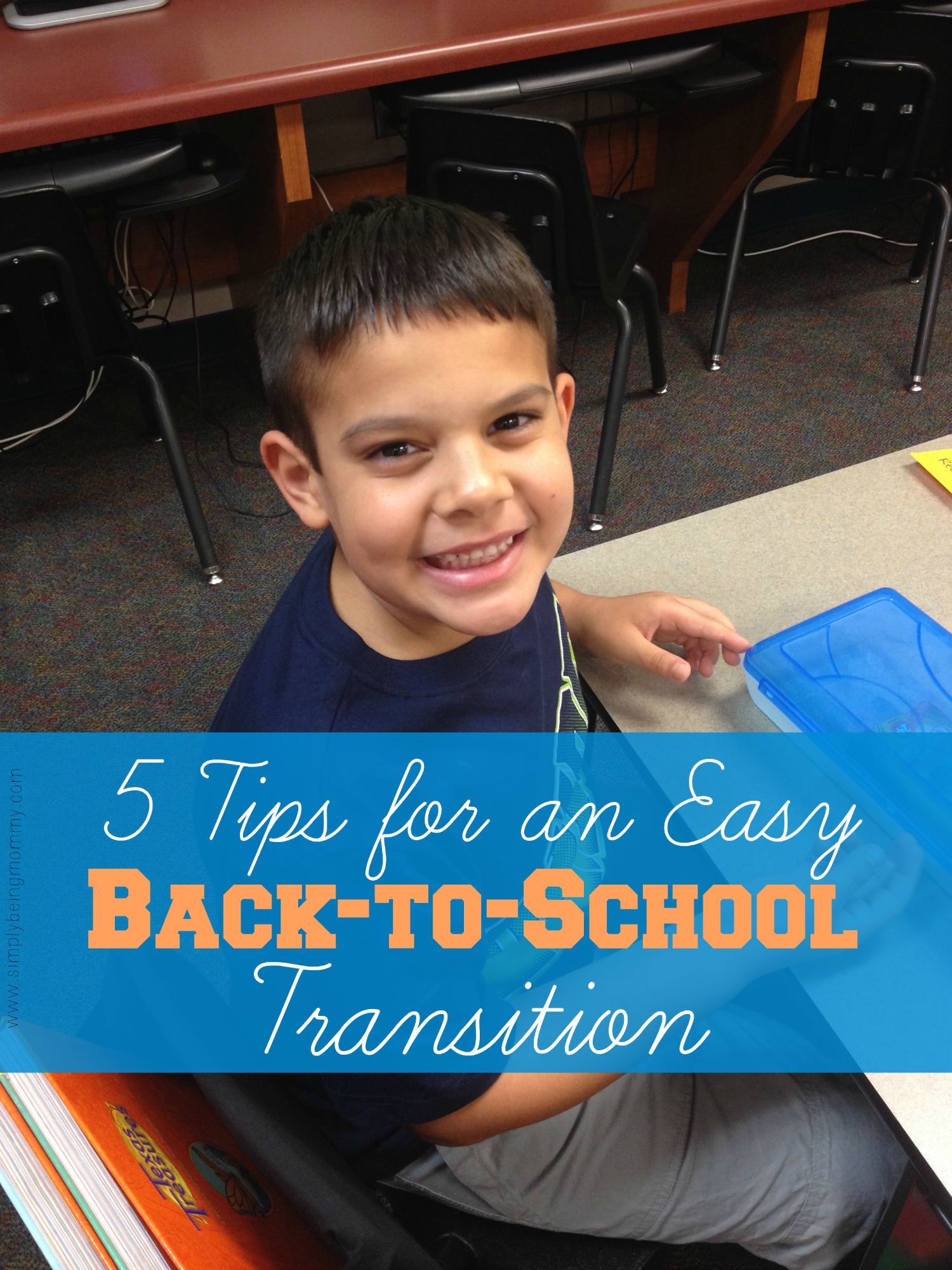 The back-to-school season is upon us. Here are 5 easy tips for an easy back-to-school transition for the little ones (and their parents).