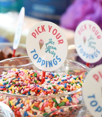Learn how to throw an ice cream party with these fun tips and printables.