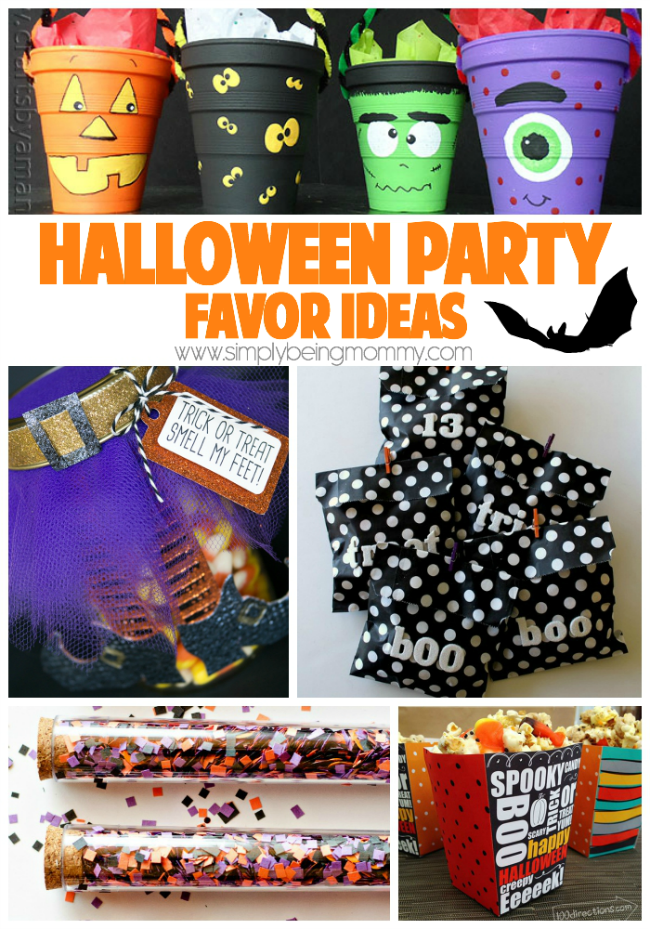 Halloween birthday favor ideas for Halloween party favor ideas