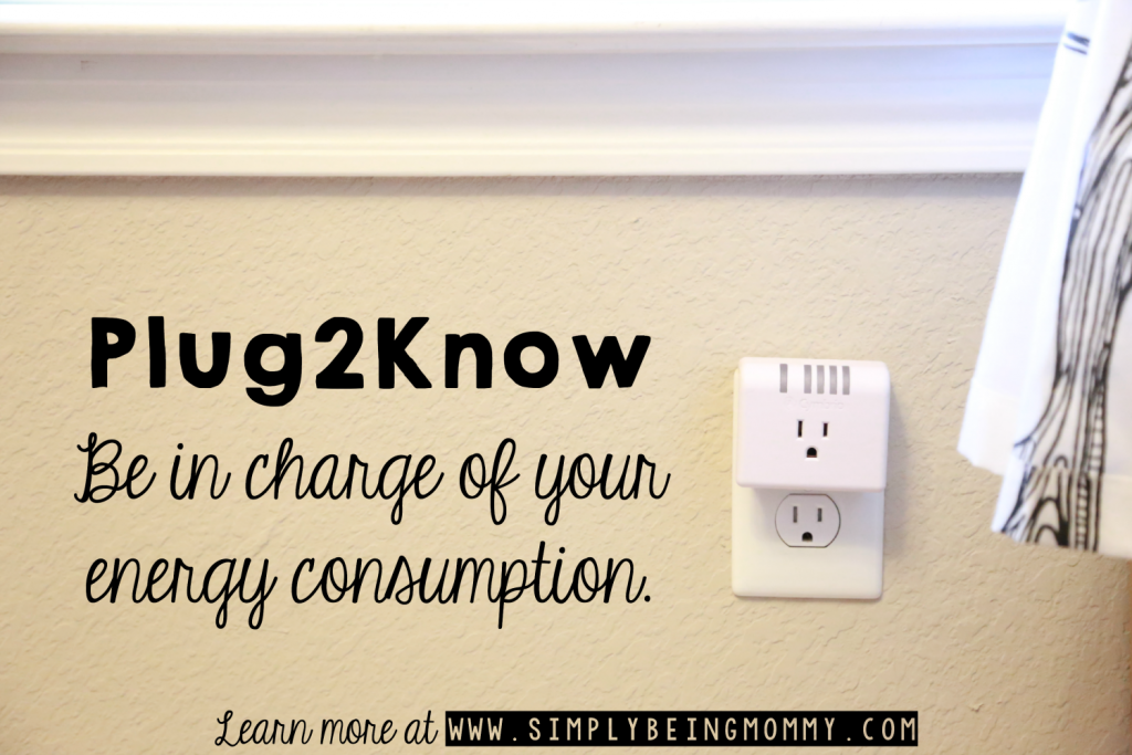 Be in charge of your energy consumption with the new Plug2Know device.
