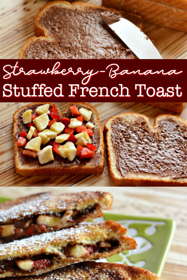 Strawberry-Banana Stuffed French Toast, the decadence breakfast deserves without the fuss. Find out how to make this Stuffed French Toast in under 30 mins.