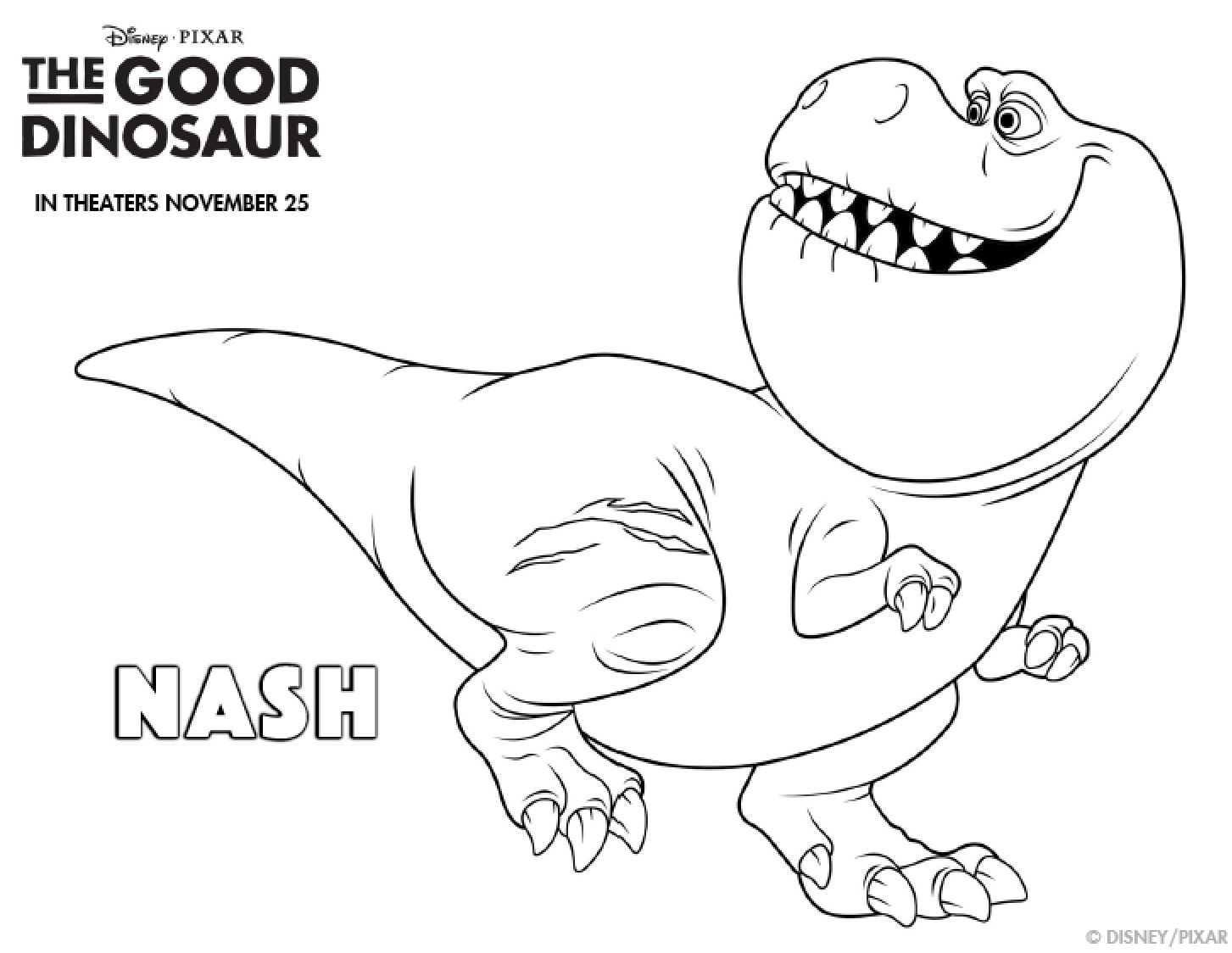 The good dinosaur coloring pages simply being mommy for Printable coloring pages dinosaurs