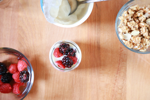 Shop the Natural Foods Department at your local Kroger and get the ingredients to make a delicious Mini Berry Breakfast Parfait.