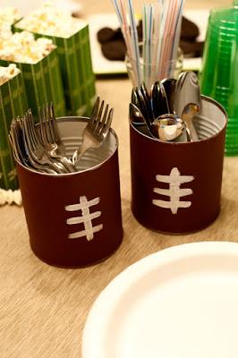 football-utensil-holders