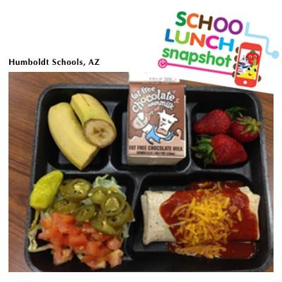 National School Lunch Week - a week long celebration to increase community awareness of all the benefits of a healthy school lunch.