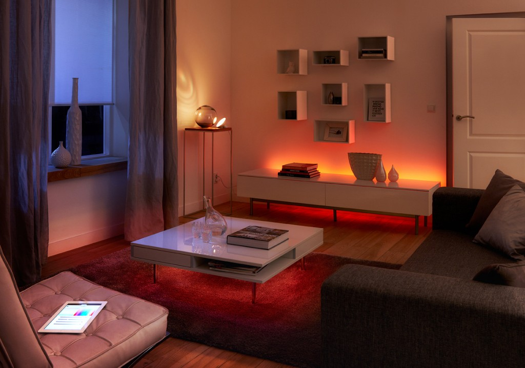 Experience a connected home using Philips Hue lighting. With the tap of your smartphone & Philips Hue Lighting | Lighting for Your Mood azcodes.com