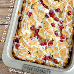 Lightened Up Cran-Apple Kuchen