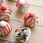 White Chocolate Peppermint Cookie Balls