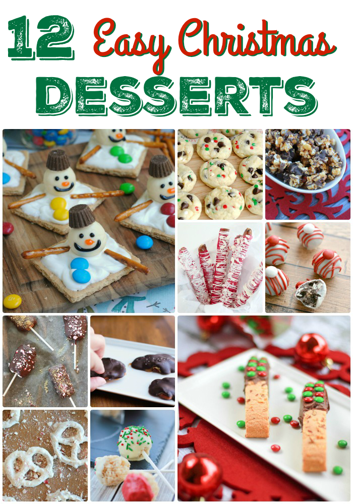 Easy Christmas Desserts | Simply Being Mommy