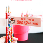 I Think You're Sharp Pencil Valentine