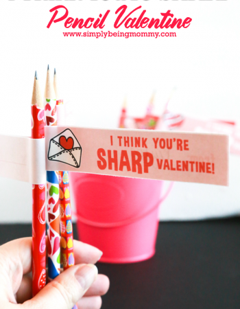 Don't send candy to school this Valentine's Day. Send these I Think You're Sharp Pencil Valentines.