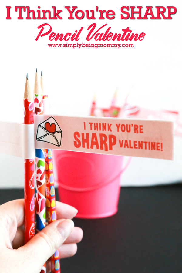 This Valentine's Day, don't send candy to school with your child. Send a I Think You're Sharp Pencil Valentine for your child's classmates.