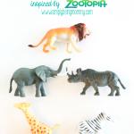 Safari Animal Magnets