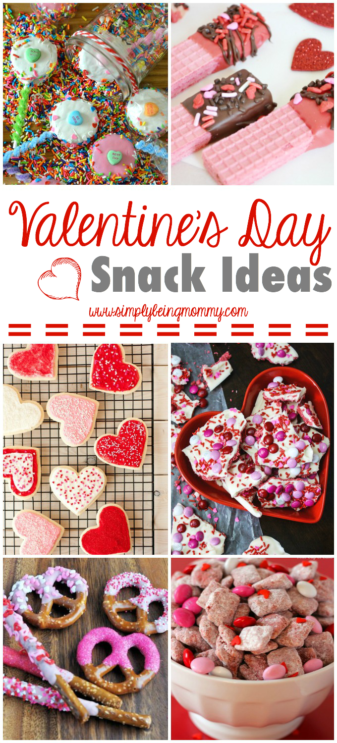 Valentine's Day Snack Ideas | Simply Being Mommy