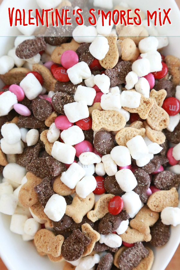 Perfekt Make A Non Messy Smores Mix With This Easy To Make Valentineu0027s Su0027mores
