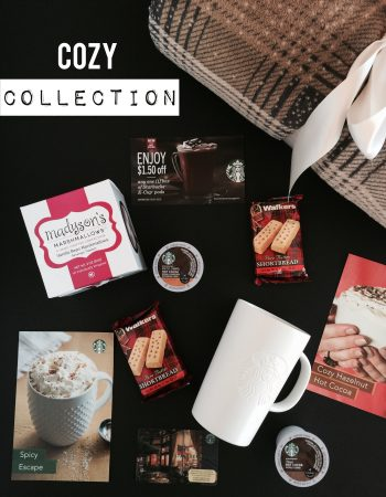 I recently got my hands on the Starbucks Cozy Collection and got my first taste of the new Starbucks Hot Cocoa K-Cup pods.