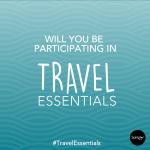 Travel Essentials Online Sampling Event