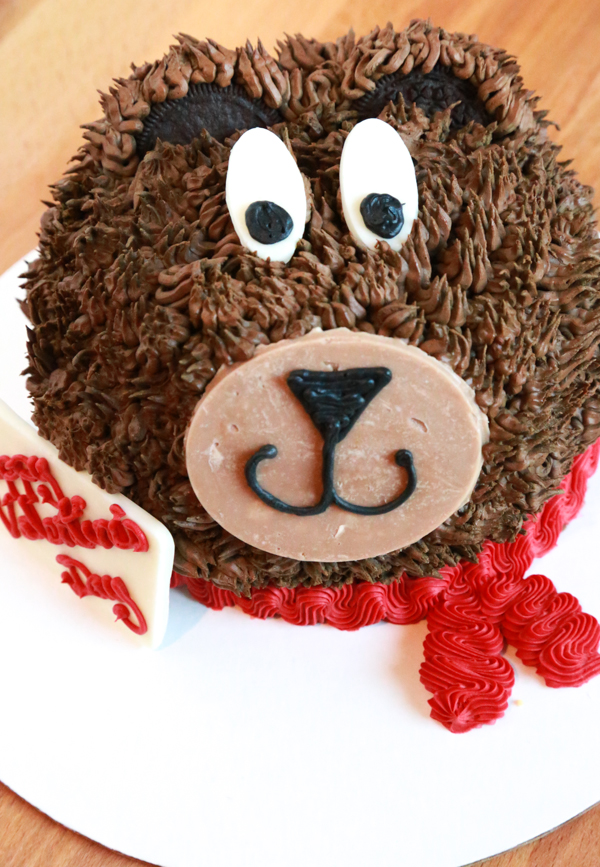 Celebrate this Valentine's Day with this adorable Baskin-Robbins Teddy Bear Cake. Celebrating a different occasion, no problem. Change the message and use it for any occasion you wish!