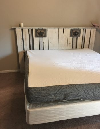 It's not your traditional mattress, it's a Ghost Bed. See what I think about this mattress in my Ghost Bed review.
