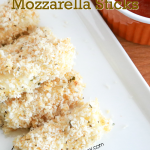 Are mozzarella sticks one your favorite appetizers. Learn how to make homemade mozzarella sticks and have them anytime you want!