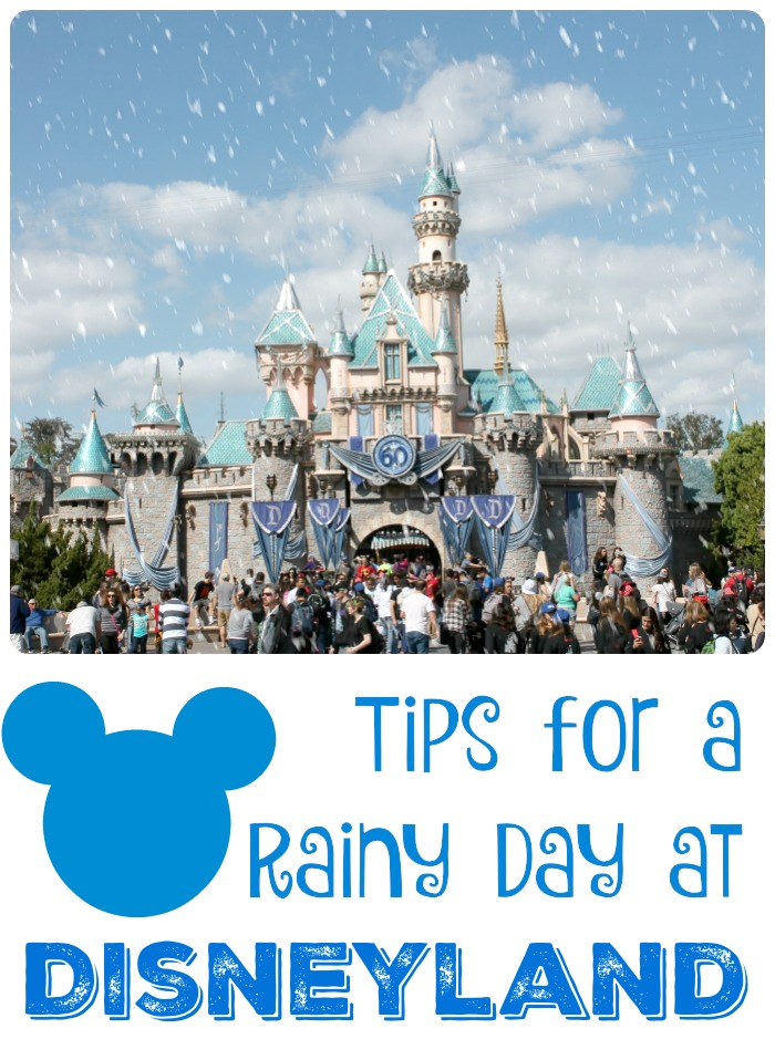 Contrary to popular belief, rainy days are the best Disney days. See @mydarlingparty's tips for a rainy day at Disneyland.