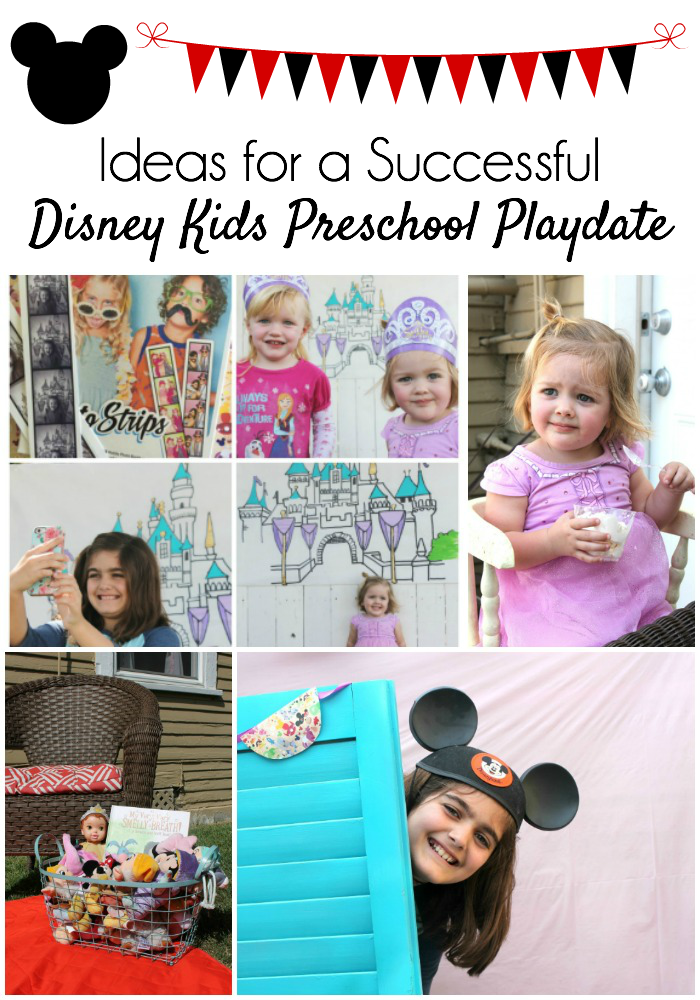 All you need to know about throwing a Disney Kids Preschool Playdate in your own backyard.