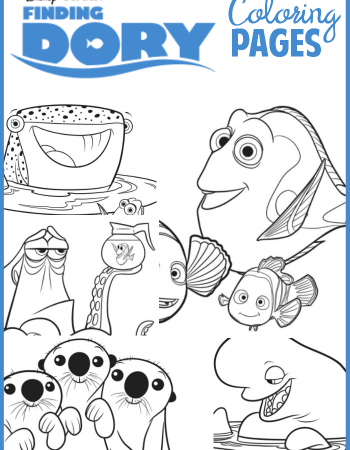Coloring pages are all the rage these days. Click here to print your own free Finding Dory Coloring Pages.