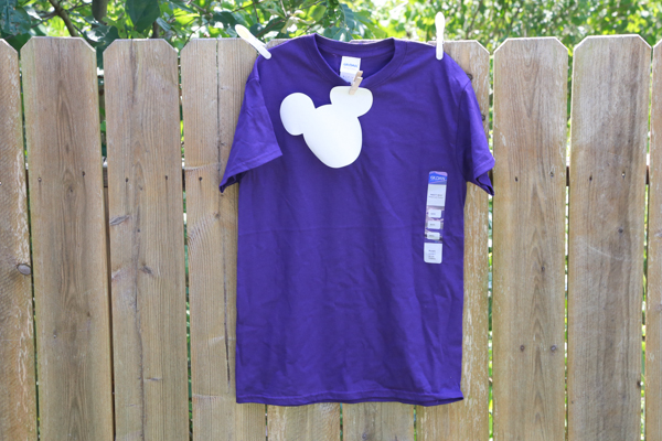 how to make a Mickey Mouse Shirt