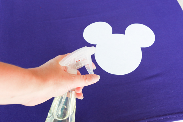 homemade Mickey Mouse Shirt
