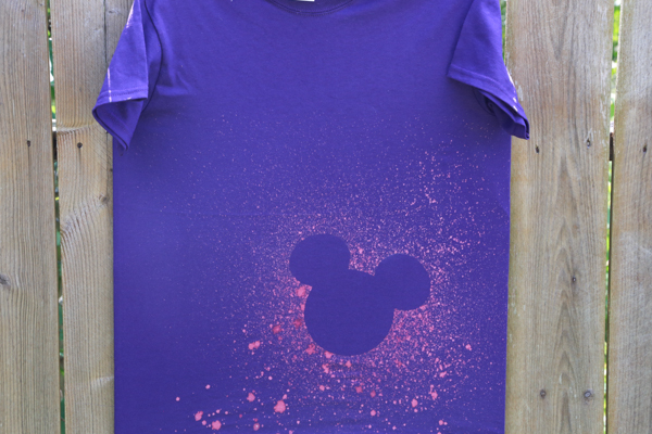 diy Mickey Mouse tshirts