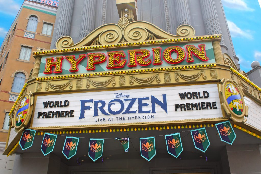 Frozen Live at the Hyperion is now showing up to three times at a day. Make sure to experience it when visiting Disney's California Adventure Theme Park.
