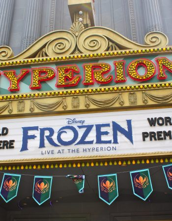 Frozen - Live at the Hyperion is now showing up to three times at a day. Make sure to experience it when visiting Disney's California Adventure Theme Park.