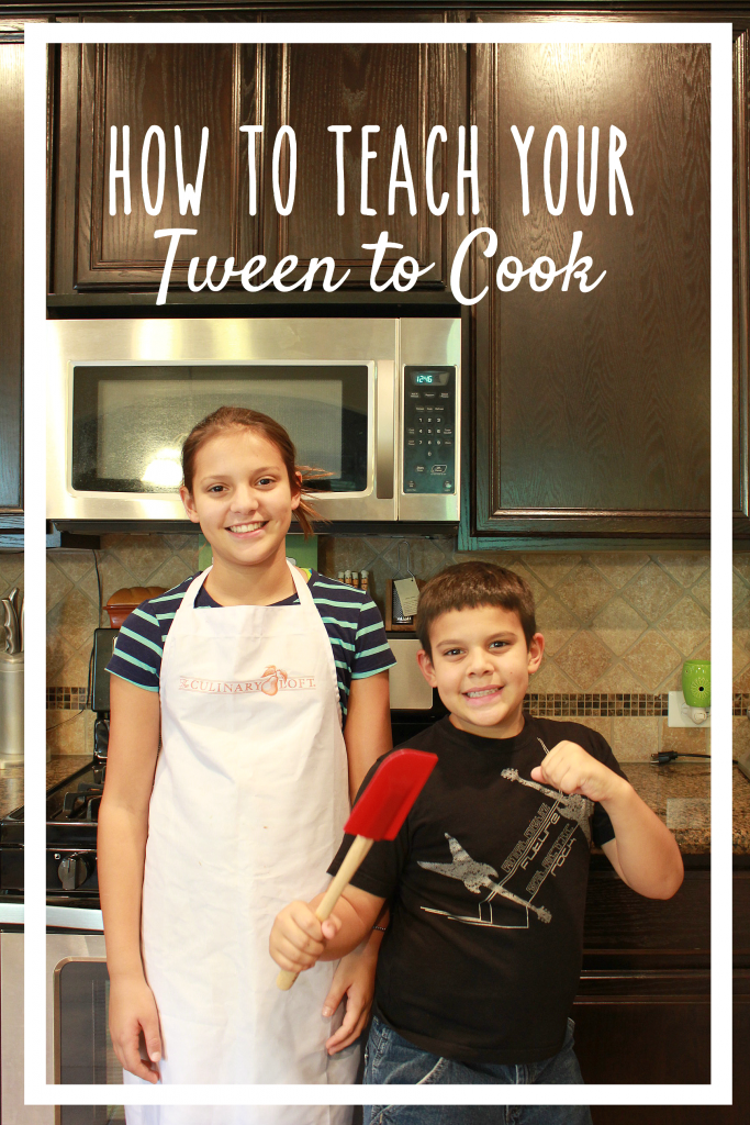One day I realized I needed to start teaching my children how to cook. These are the tips I used for how to teach your tween to cook.