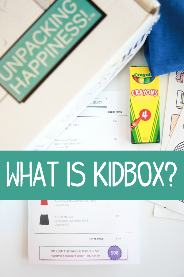 Take the hassle of shopping with children with Kidbox. The first style box service for kids.