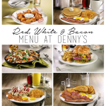 Red, White & Bacon Menu at Denny's