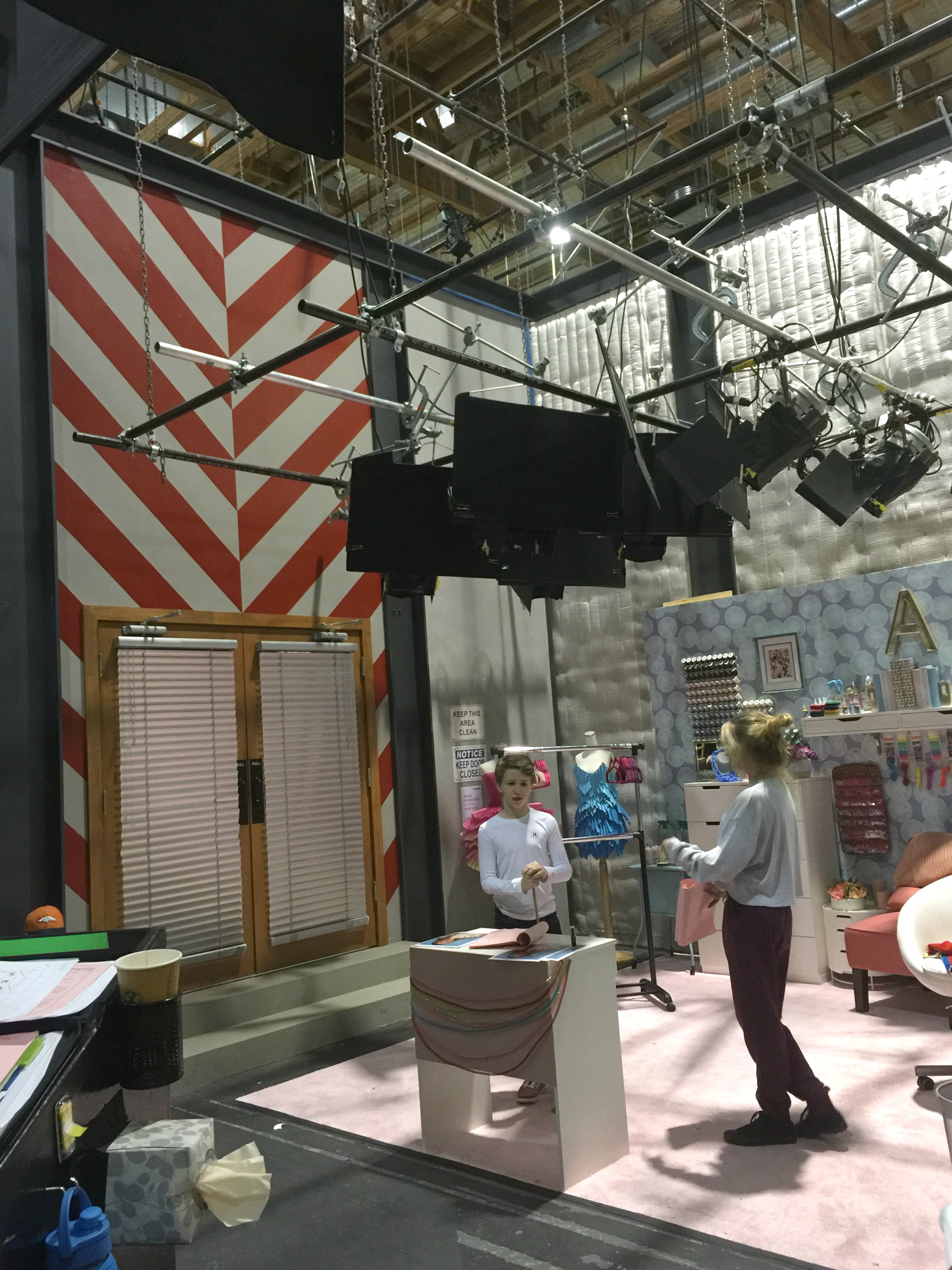 While I was in LA for the Finding Dory Event I was able to get a sneak peek of the upcoming season during the Bizaardvark set visit.